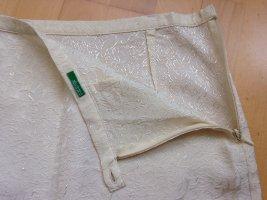 United Colors of Benetton Minigonna beige chiaro-crema