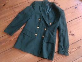 Edler Goldix Sakko / Blazer, 100% Wolle, grün, Gr. 36