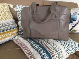 Edler Leder Shopper-Umhängetasche-Schultertasche-Handtasche