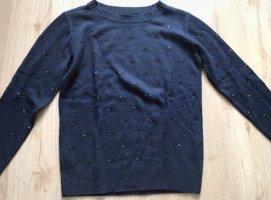 Edler Mango Pullover in dunkelblau