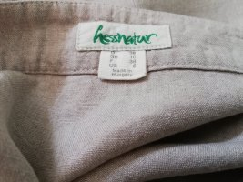 Hess Natur Linen Skirt oatmeal
