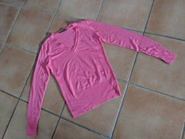 Betty Barclay Maglione con scollo a V fucsia neon