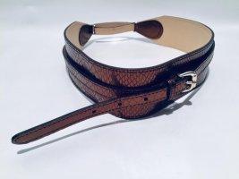 Reiss Double Belt bronze-colored