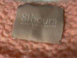 81hours Pull en laine rose laine alpaga