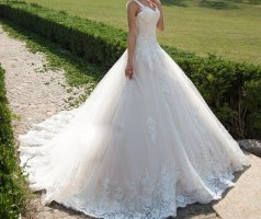 Wedding Dress rose-gold-coloured