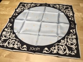 Edles JOOP! Designer Seidentuch, Ornamente, 50x50 cm, NEU