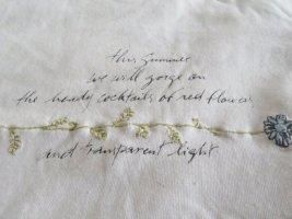 Edles Shirt von Oui Gr. S / M natur Baumwolle Leinen Viscose
