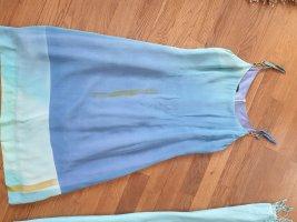 Bestini Robe épaules nues turquoise