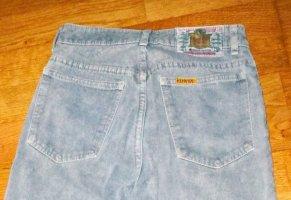 EDWIN High-Waist-Jeans 27 grau