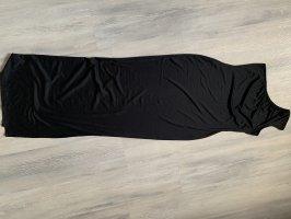 Vestido de un hombro negro