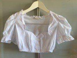 Esmara Blouse bavaroise blanc coton