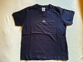 einfaches Adidas T-Shirt mit V-Ausschnitt