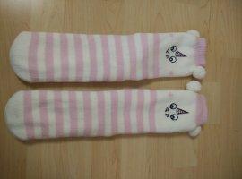 Einhornsocken Kuschelsocken Socken rosa Einhorn