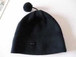 Eisbär Knitted Hat dark blue wool