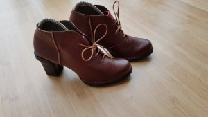 El Naturalista Short Boots brown leather