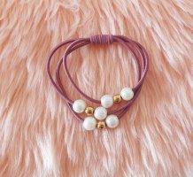 Haarband roségoud