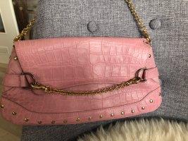 Elegance Clutch Leder rosa