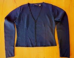 Jake*s Bolero lavorato a maglia blu