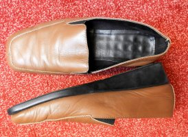 Strauss Babouche marron clair cuir