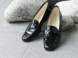 Elegante Damen Lack-Slipper von Andrea Puccini