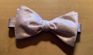 Sciarpa di seta rosa antico-bianco Seta