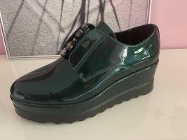 Slip-on Sneakers cadet blue mixture fibre