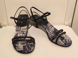 Elegante Leder-Sandaletten von Fornarina in Größe 38