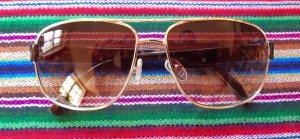 Guess Gafas de piloto marrón-color oro