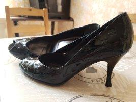 Elegante schwarze Schuhe made in Italy