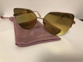 H&M Gafas mariposa color rosa dorado
