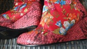 Emilia Shoes Stivale con tacco multicolore