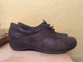 Elegante Suave Lederschuhe / Boots, Gr. 37