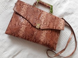 Elegante Tasche Animal Schlange Muster Vintage