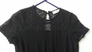 Eleganter Axara Paris Jumpsuit Overall mit Spitze und Taschen schwarz Gr. M