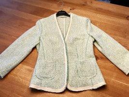 René Lezard Blazer en tweed multicolore