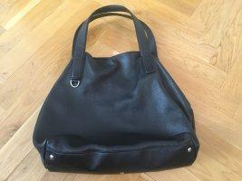 """Eleganter COCCINELLE Leder-Shopper """"Mila"""", schwarz, sehr guter Zustand"""