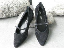 Unützer Loafer nero Scamosciato