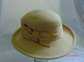 Felt Hat sand brown
