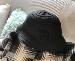 0039 Italy Woolen Hat black
