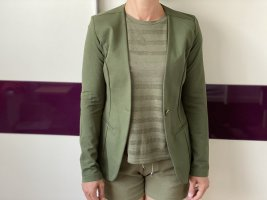 Eleganter Khaki Blazer Jacke , modern gr S