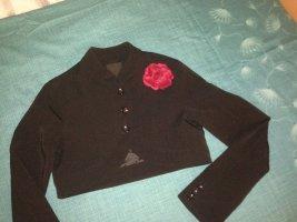 Amisu Korte blazer zwart Polyester