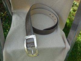 edel tröster Leather Belt taupe leather