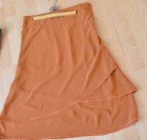 H&M Broomstick Skirt orange polyester