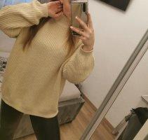 H&M Divided Oversized Sweater cream