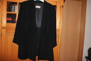 Eleganter schwarzer Blazer / Jackett von Ulla Popken Selection; Größe 46