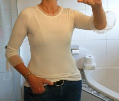 Orsay Knitted Jumper natural white viscose