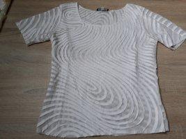 Elegantes Shirt weiß Kurzarm
