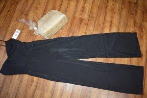 Elsie Glanz Jumpsuit neu schwarz Gr. 38 von Tiger Mist