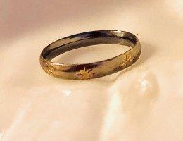 Emaille getauchtes 375 Goldring