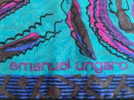 Emanuel Ungaro Silk Cloth multicolored silk